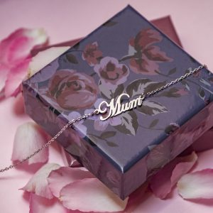 Mum Necklace in Rose Gold